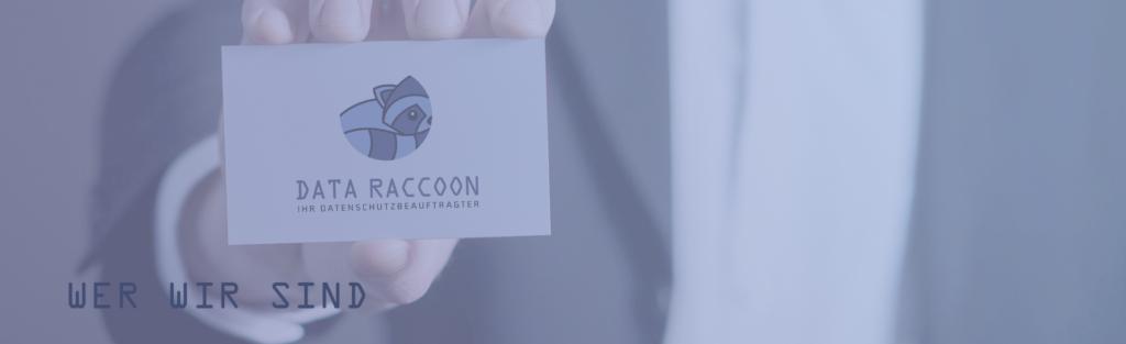 Header: Data Raccoon - Wer wir sind