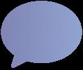 Icon, welches eine Sprechblase zeigt